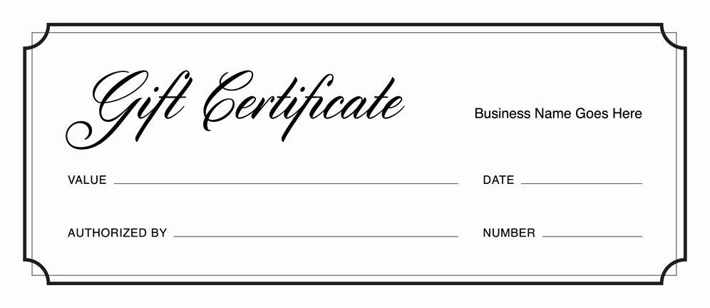 Donation Certificate Template Free Fresh Gift Certificate Templates Download Free Gift