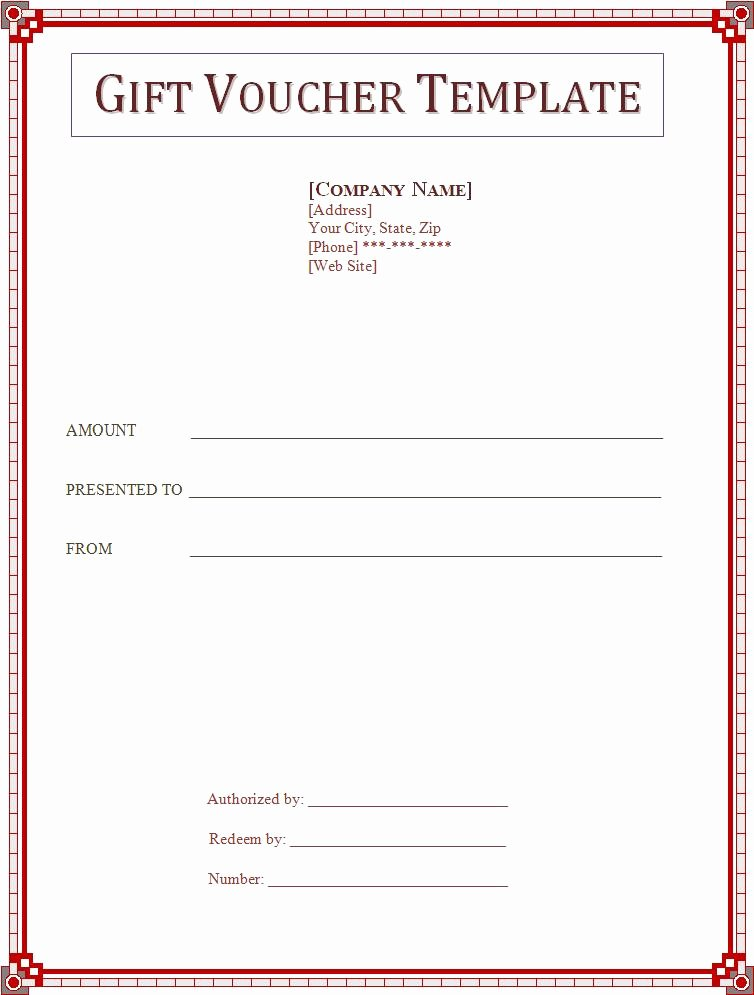 Donation Certificate Template Free Luxury Voucher Templates