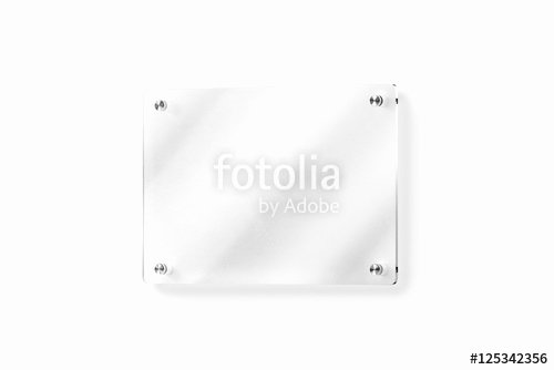 "Door Name Plate Template New ""blank Glass Name Plate Wall Mounted Mockup Clipping Path"