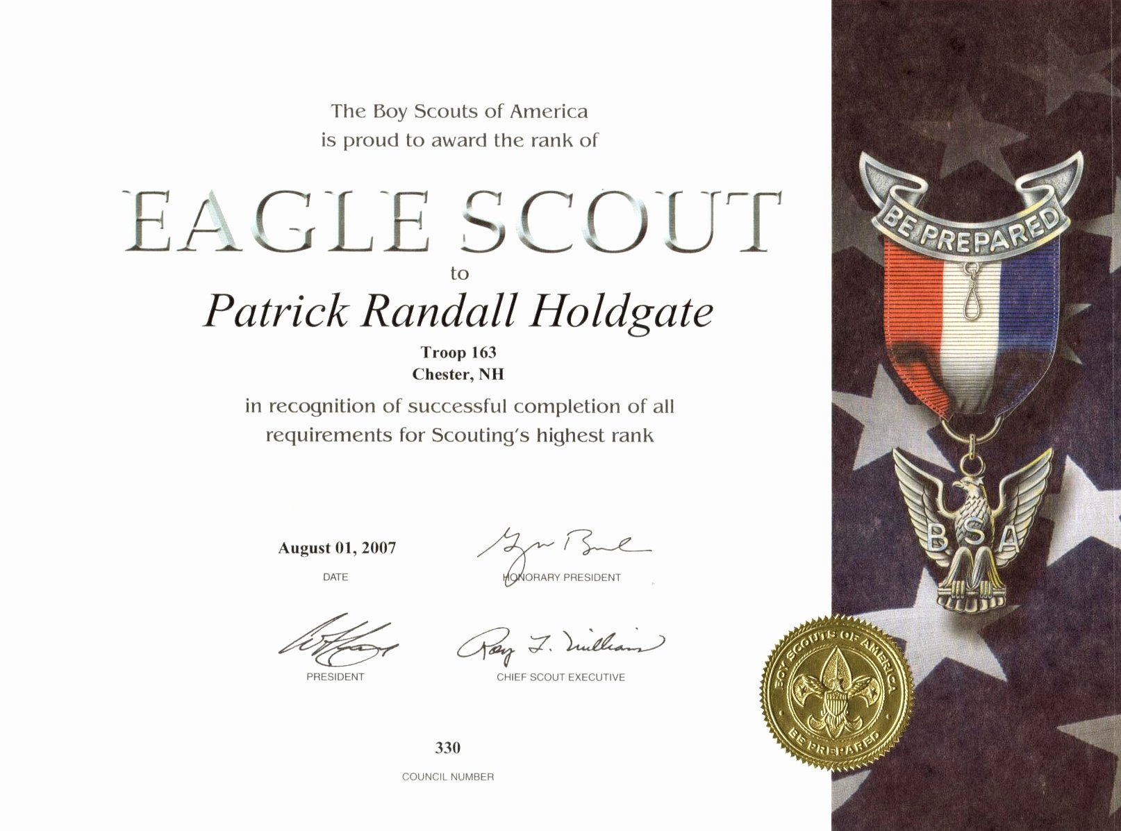 Eagle Scout Certificate Template Beautiful Certificates Of Appreciation Template for Cub Scouts