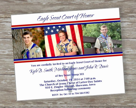 Eagle Scout Certificate Template Fresh Eagle Scout Court Of Honor Invitations by Itsallaboutthecards