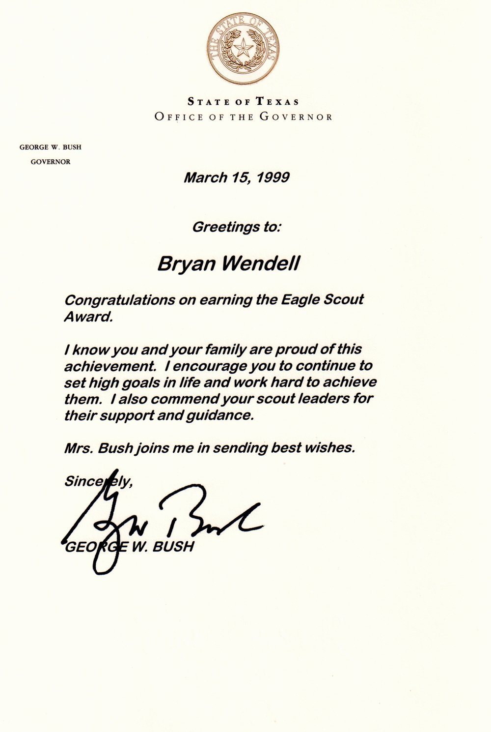 Eagle Scout Certificate Template Lovely How to Request Congratulatory Letters for Your Eagle Scout