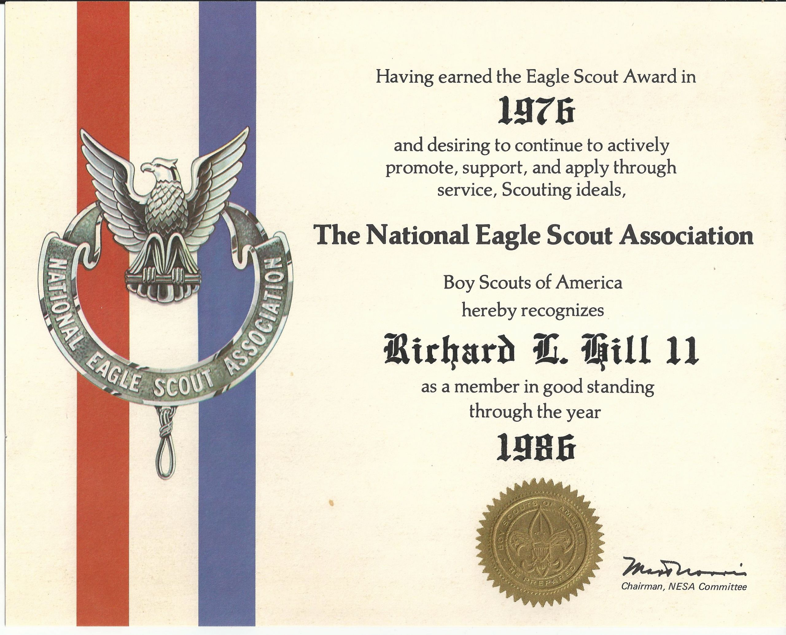 Eagle Scout Certificate Template Unique Stopping Time
