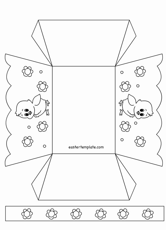 Easter Gift Certificate Template Awesome Paper Easter Basket Templates Printable – Hd Easter
