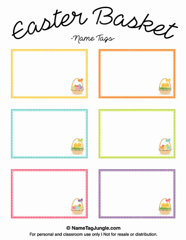 Easter Gift Certificate Template Awesome Pin by Muse Printables On Name Tags at Nametagjungle