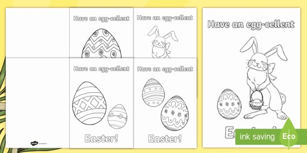 Easter Gift Certificate Template Awesome Roi Easter Greetings Colouring Gift Card Template Roi