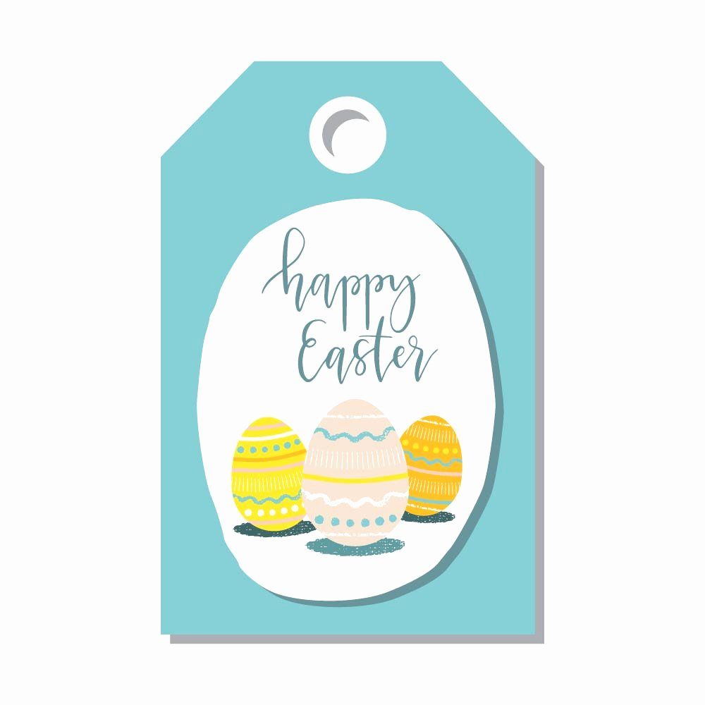 Easter Gift Certificate Template Elegant Printable Easter Card and Gift Tag Templates