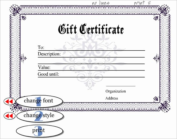 Editable Birth Certificate Template Luxury 13 Generic Certificate Templates
