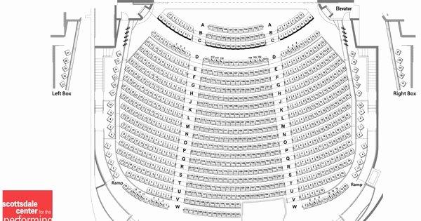Edman Chapel Seating Chart Beautiful Scottsdale Performing Arts Seating Chart Of Virginia G