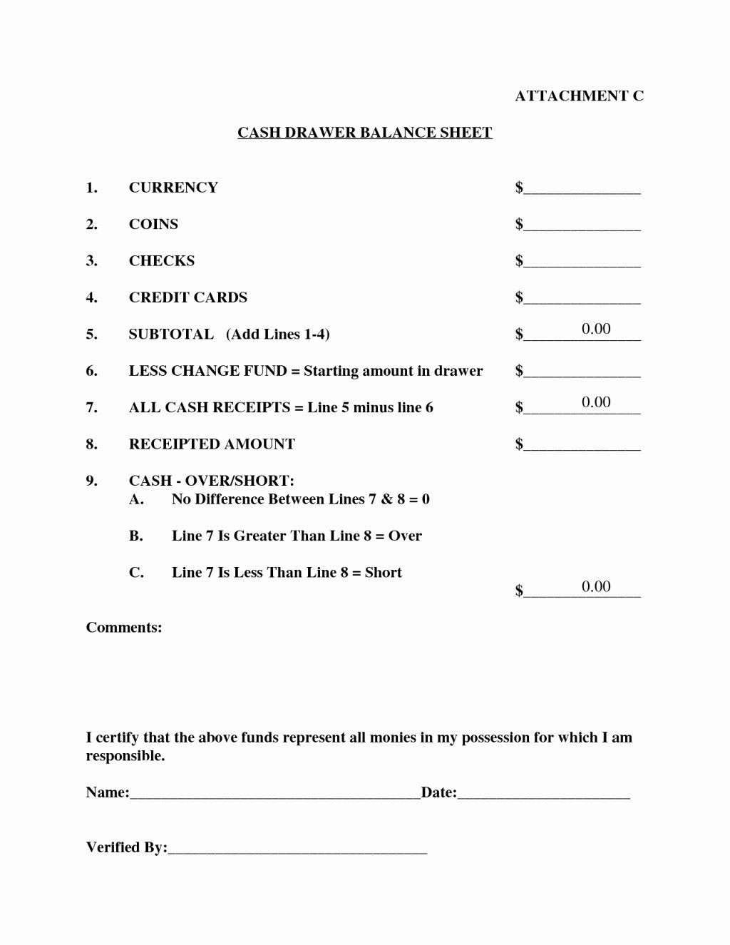 Edman Chapel Seating Chart Best Of 30 Cash Register Count Sheet