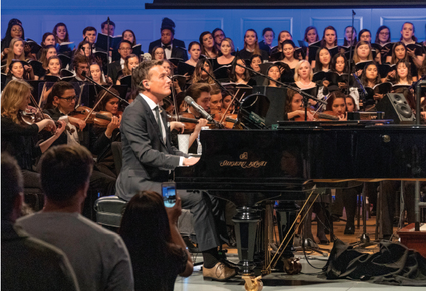Edman Chapel Seating Chart Luxury My Experience Sharing the Stage with Michael W Smith