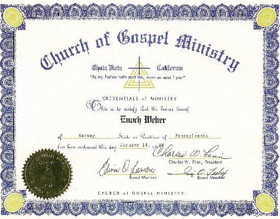 Elder ordination Certificate Template Awesome Dog Receives ordination