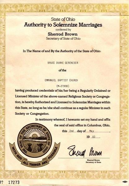 Elder ordination Certificate Template Inspirational ordained Minister Certificate