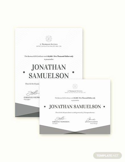 Elegant Gift Certificate Template Beautiful Elegant Business Gift Certificate Templates Word