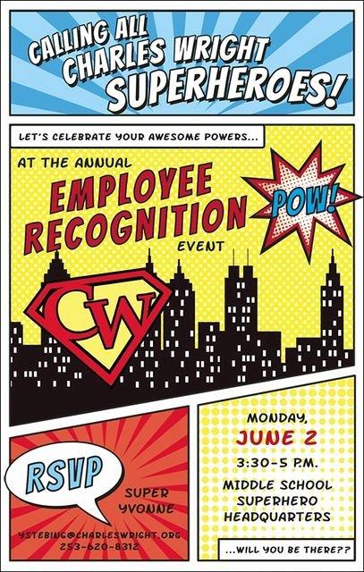 Employee Appreciation Day Flyer Template Awesome Employee Appreciation Day Template to Pin On