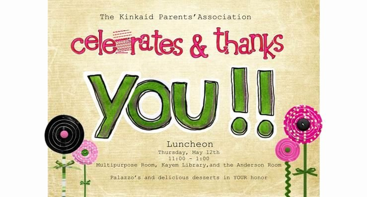 Employee Appreciation Day Flyer Template Awesome Luncheon Invitations for Teachers
