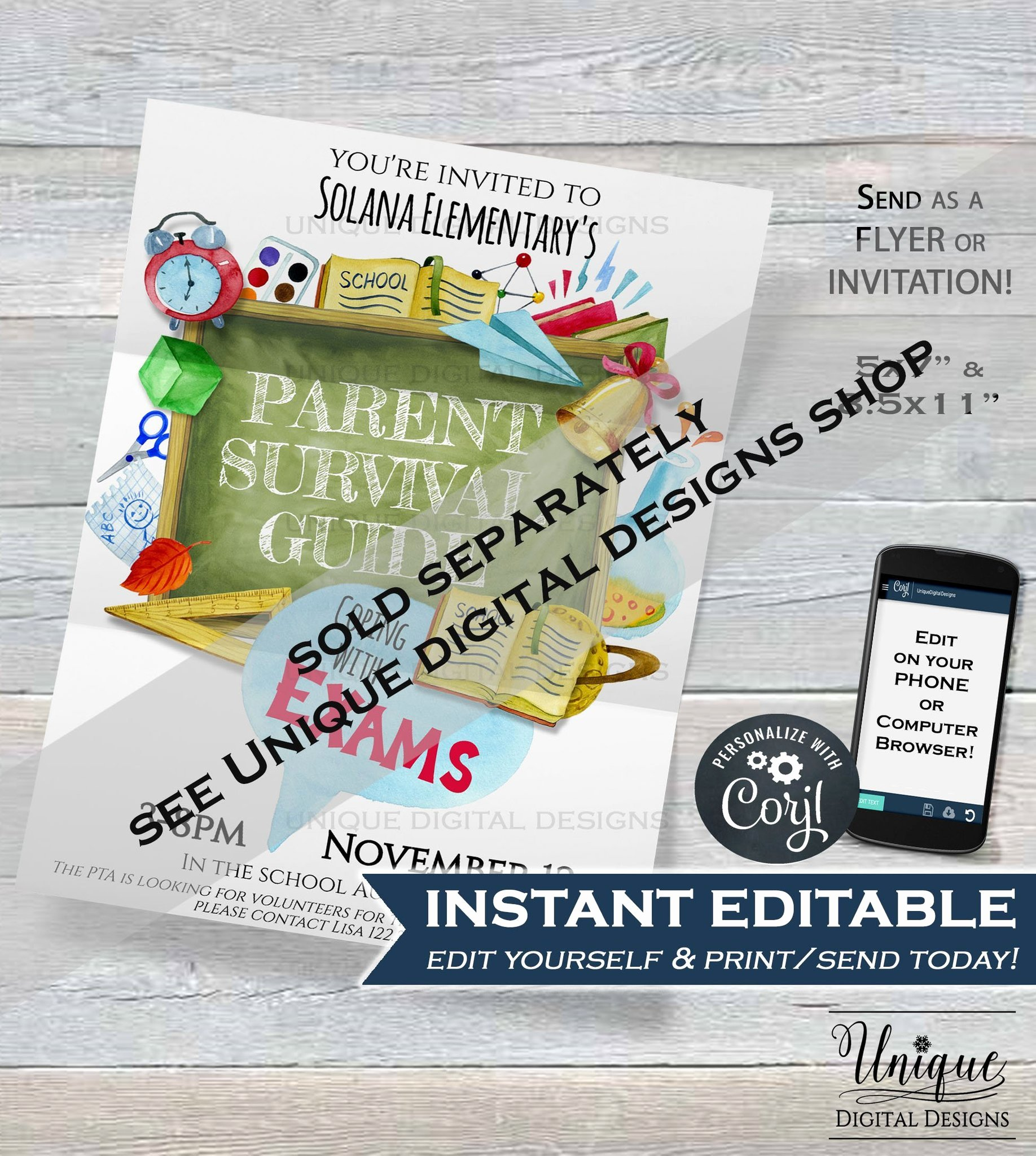 Employee Appreciation Day Flyer Template Awesome Teacher Appreciation Week Invitation Editable School
