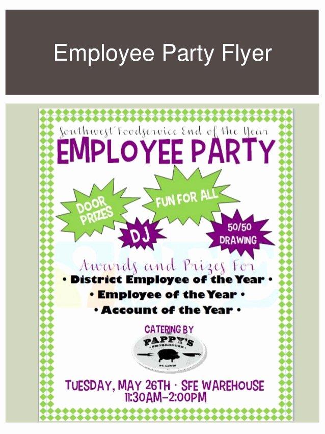 Employee Appreciation Day Flyer Template Lovely Marketing Portfolio
