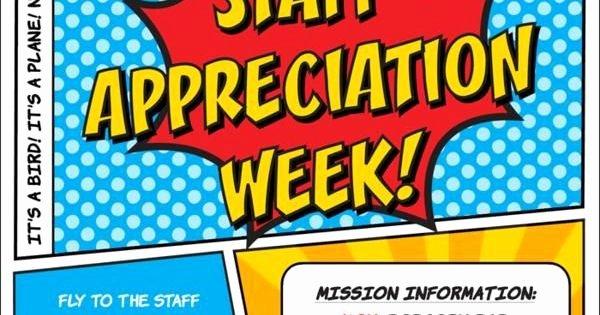 Employee Appreciation Day Flyer Template Lovely Superhero Flyer Template Google Search