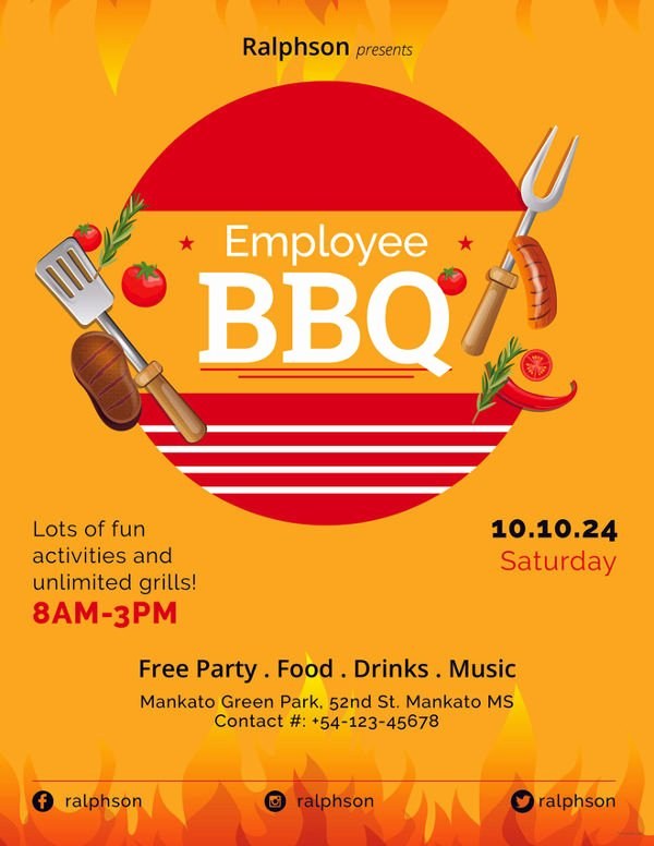 Employee Appreciation Flyer Templates Awesome 62 Party Flyer Templates Psd Eps Ai Word