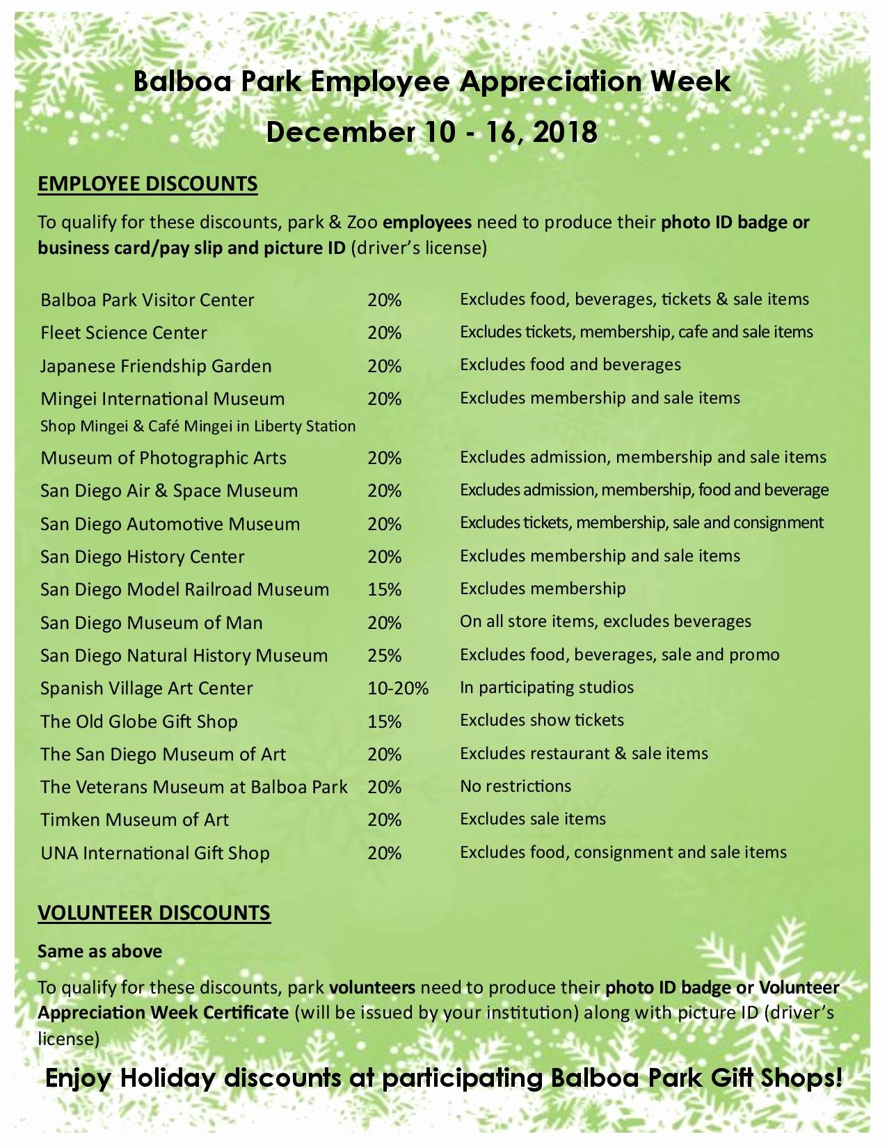 Employee Appreciation Flyer Templates Awesome Bp Employee Appreciation Week Dec 10 16 2018 Flyer Page