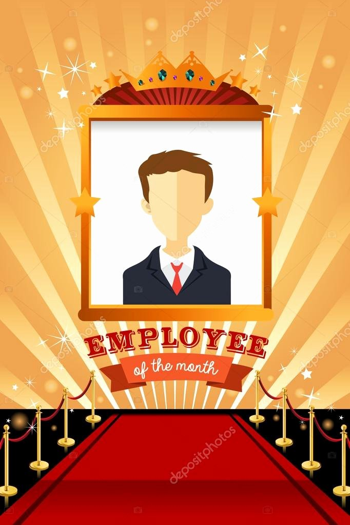 Employee Of the Month Frame Lovely Employee Of the Month Poster