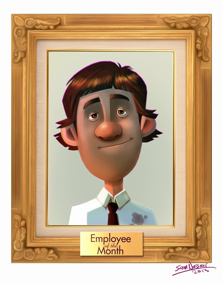 Employee Of the Month Frame New Employee the Month Quotes Quotesgram