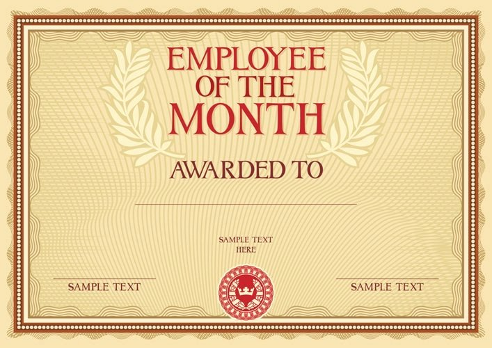 Employee Of the Month Online Free Inspirational Build A Successful organization Starting with Employee
