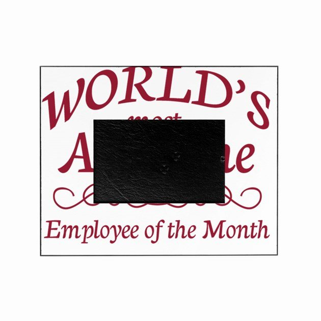 Employee Of the Month Picture Frame Inspirational Employee Of the Month Picture Frame by Admin Cp