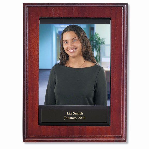 Employee Of the Month Picture Frame Inspirational Individual Employee Of the Month Plaque