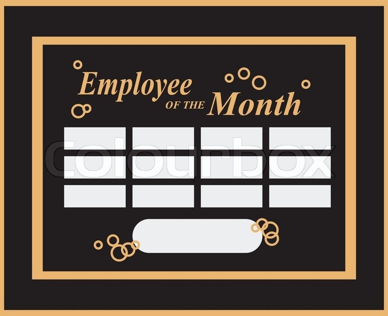 Employee Of the Month Picture Frame Lovely Employee the Month Award Kit