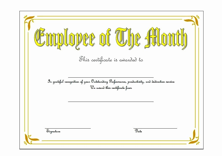 Employee Of the Month Plaque Template Lovely Employee Recognition Awards Templates – Iinan