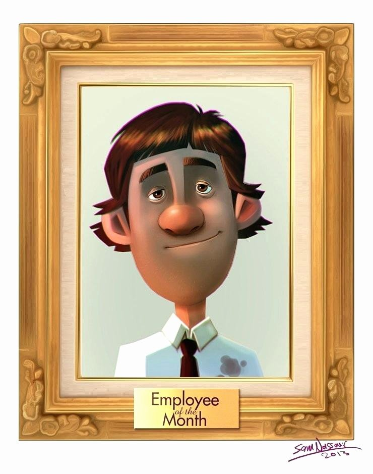Employee Of the Month Poster Template Best Of Employee Of the Month Template Poster – Lapos