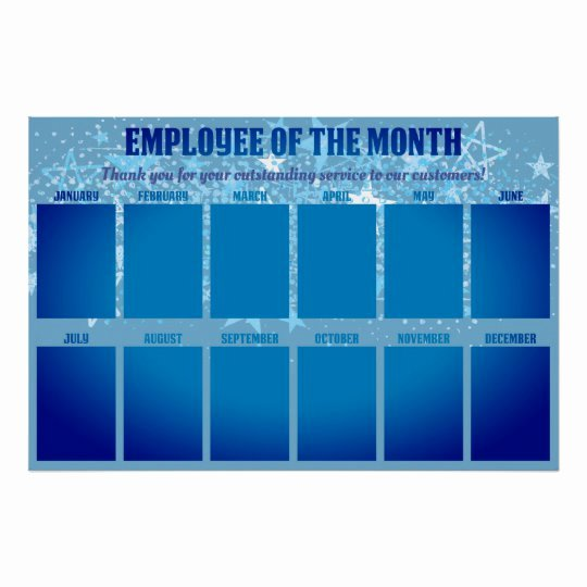 Employee Of the Month Poster Template Luxury 4x6 Photos Board Employee Of the Month Poster