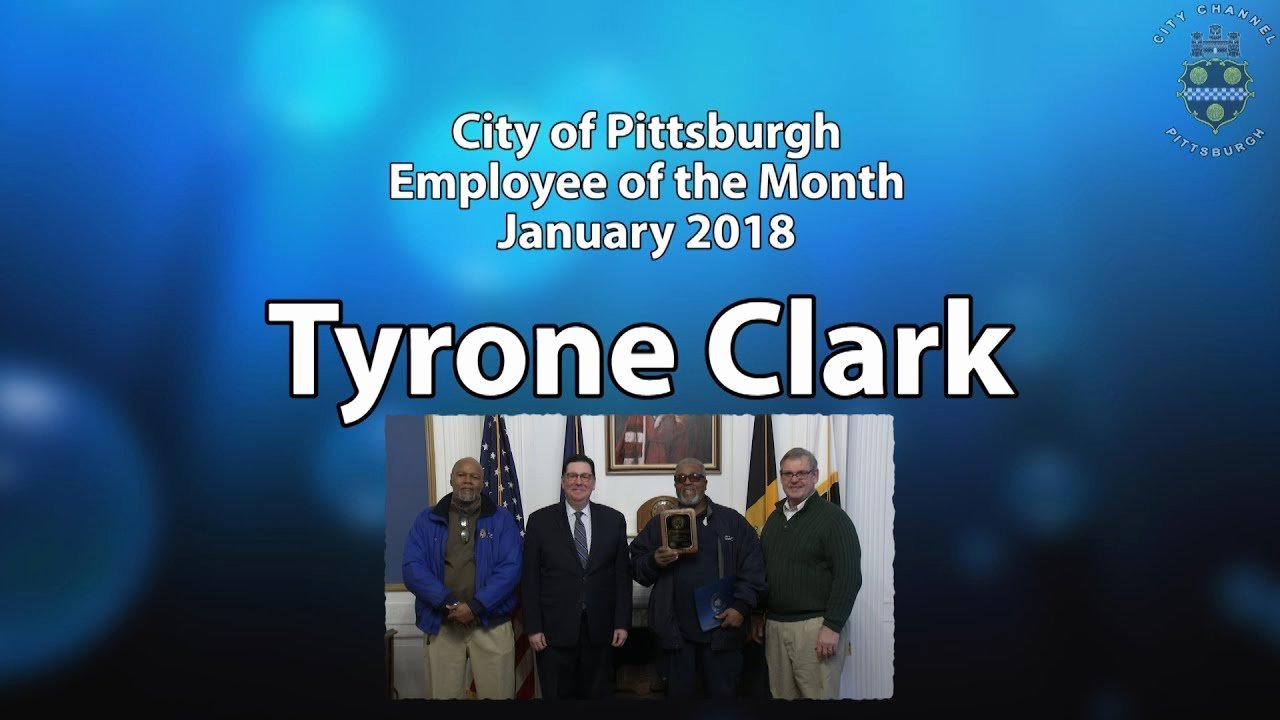 Employee Of the Month Watch Online Elegant City Of Pittsburgh Employee Of the Month January 2018 1