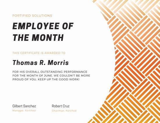 Employee Of the Year Award Template Fresh Employee Of the Year Award Certificate Templates by Canva