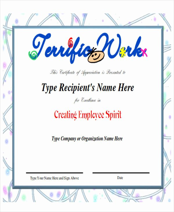 Employee Recognition Cards Printable Awesome 43 Printable Award Certificates Word Psd Ai Eps Vector