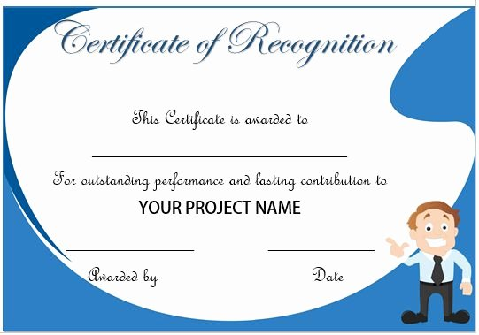 Employee Recognition Cards Printable Beautiful Certificate Appreciation for Employees