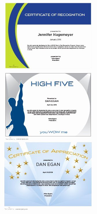 Employee Recognition Cards Printable Fresh Certificate Maker