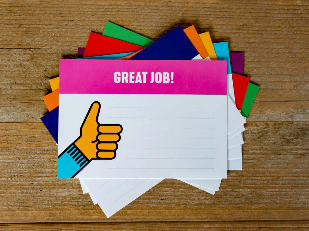 Employee Recognition Cards Printable Lovely Kudo Box & Kudo Cards Nurture Intrinsic Motivation