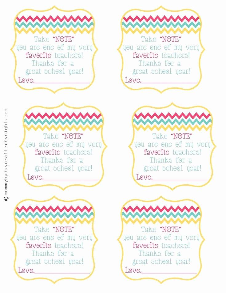 Employee Recognition Cards Template Elegant Teacher T Idea Free Printable Teacher Appreciation