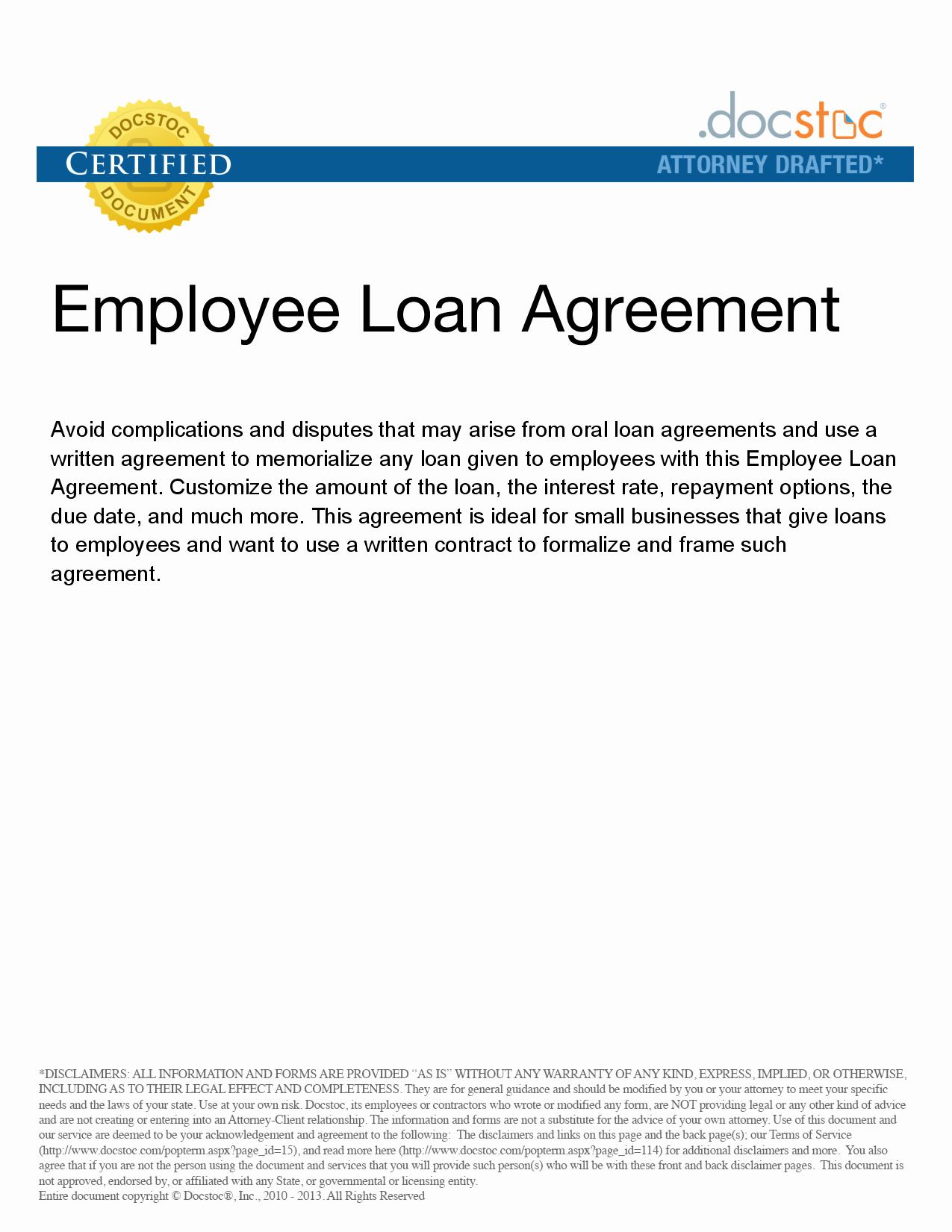 Employees Loan Agreement Beautiful Personal Loan Repayment Agreement Template
