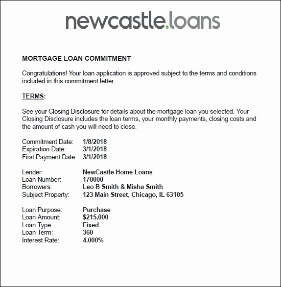 Employment Commitment Letter New Understanding Your Mortgage Mitment Letter
