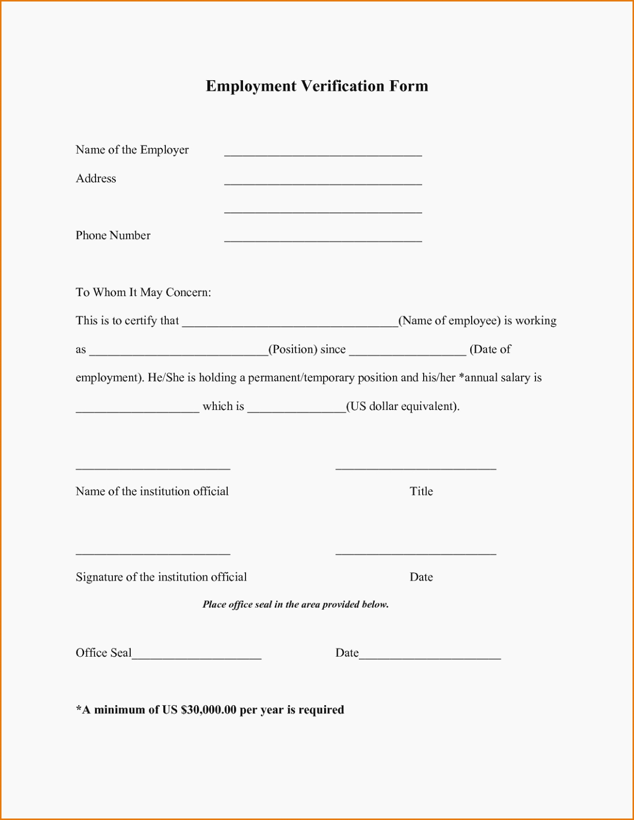 Employment Verification form Texas Elegant How You Can attend Verbal