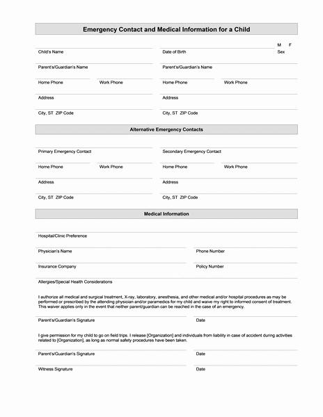 Ems Patient Care Report forms Elegant Medical Information form – Medical form Templates