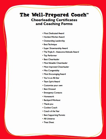 End Of Season Award Ideas Best Of Cheerleading Awards Google Search