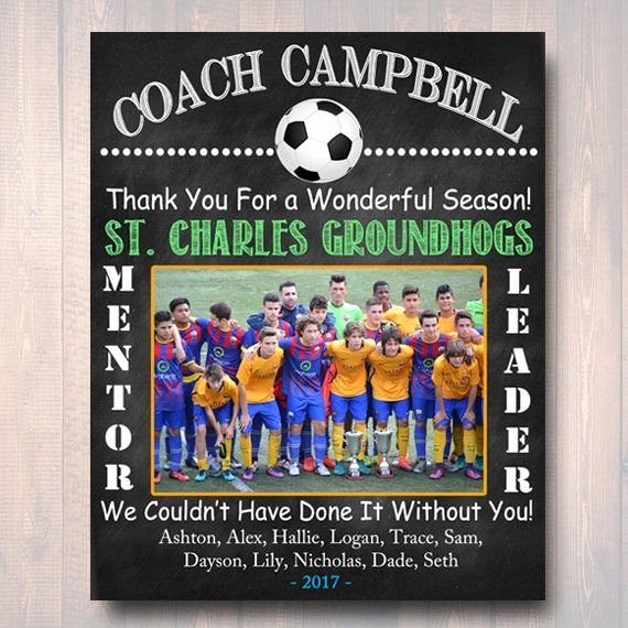 End Of Season soccer Awards Ideas Best Of 25 Best Ideas About soccer Coach Gifts On Pinterest