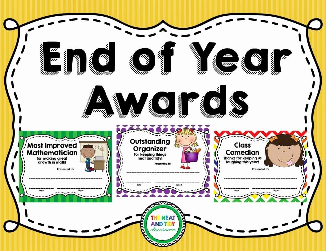 End Of Year Awards Certificates Fresh now Editable This Product Includes 28 Different End Of
