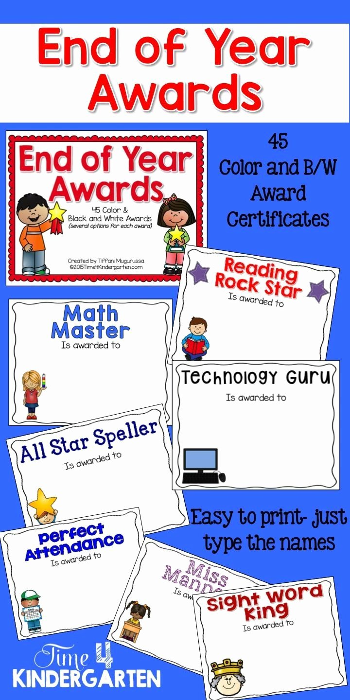 End Of Year Awards Certificates New 1000 Images About Awards On Pinterest