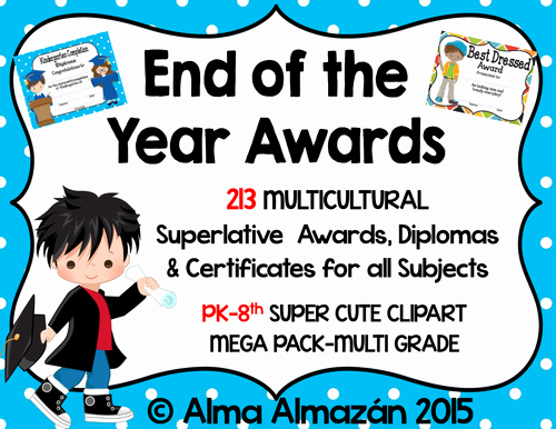 End Of Year Awards Certificates New End Of Year Classroom Award Certificates by Charleei Uk